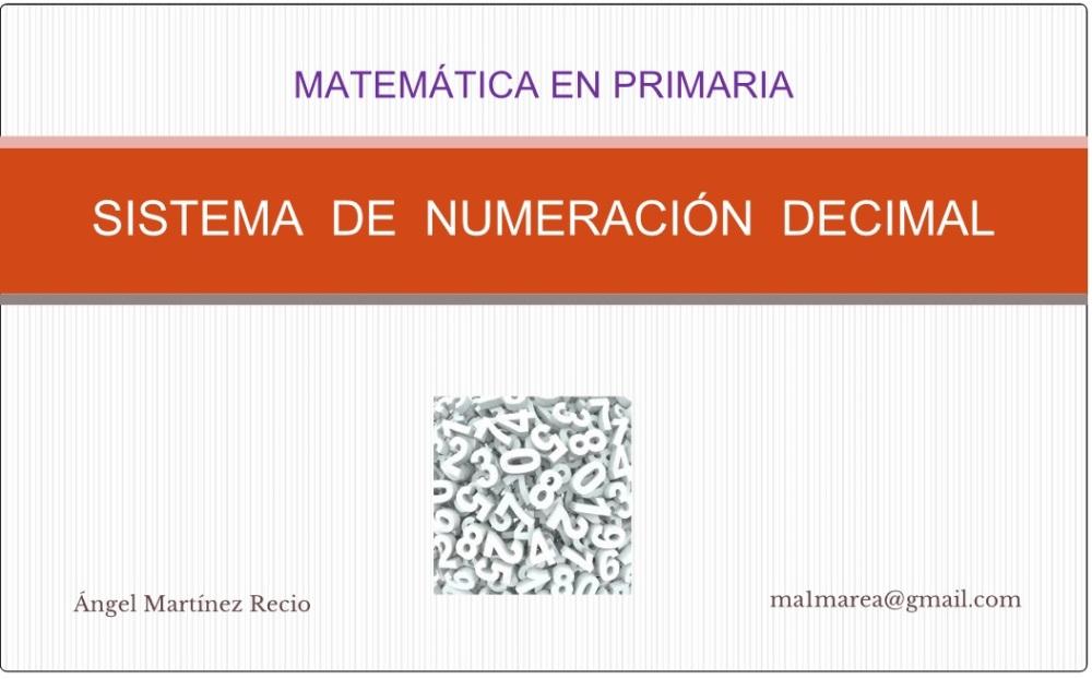 4º de Primaria. Sistema de numeración decimal