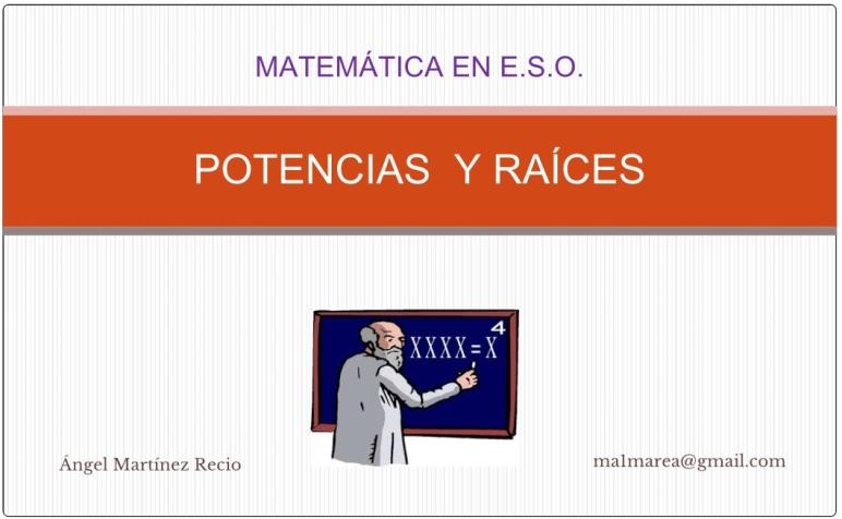 PotenciasRaices