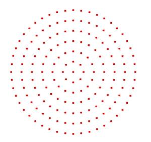 Geoplano-circular