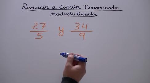 ReducirComunDenominador