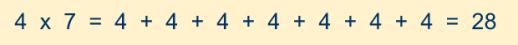 multiplicacion4por7