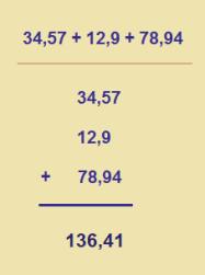 sumadecimales